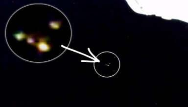 extraterrestres astronautas 384x220 - Un video demuestra que los extraterrestres cooperan con los astronautas de la Estación Espacial Internacional