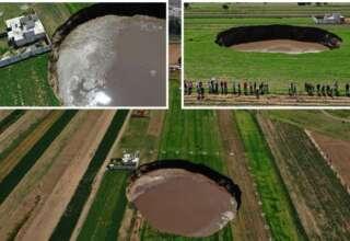 agujero mexico 320x220 - Aparece un enorme y gigantesco agujero en México que no para de crecer