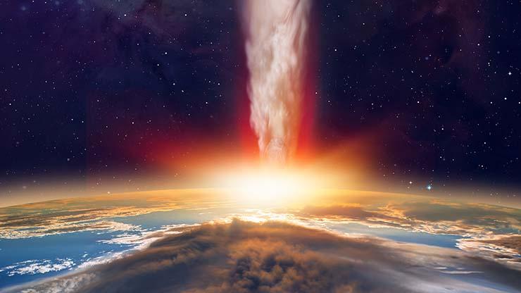 mega cometa tierra - Científicos advierten que un mega cometa de 370 kilómetros de ancho se dirige a la Tierra