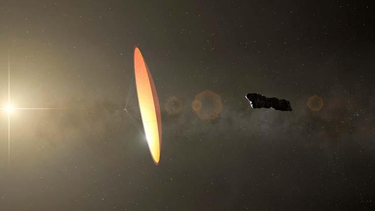 oumuamua sondas extraterrestres tierra - El principal astrónomo de Harvard dice que 'Oumuamua recuperó sondas extraterrestres en la Tierra