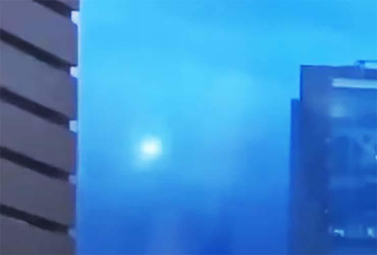 ovni concierto por streaming - Un sorprendente OVNI aparece durante un concierto por streaming