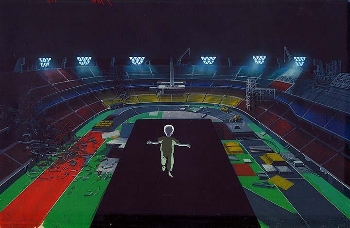 anime akira estadio - El anime 'Akira' también predijo el estadio vacío y las protestas de los Juegos Olímpicos de Tokio 2020
