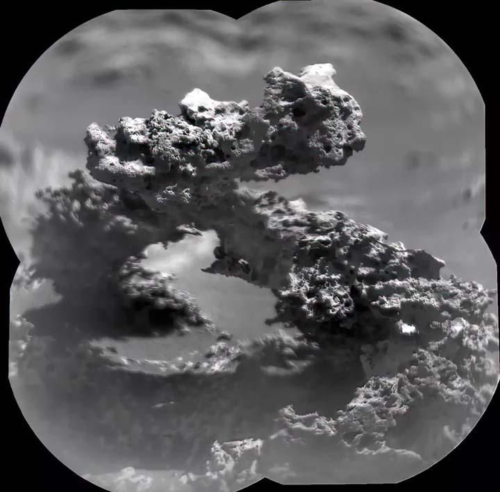 formacion marte - El rover Curiosity de la NASA encuentra una inexplicable formación en Marte