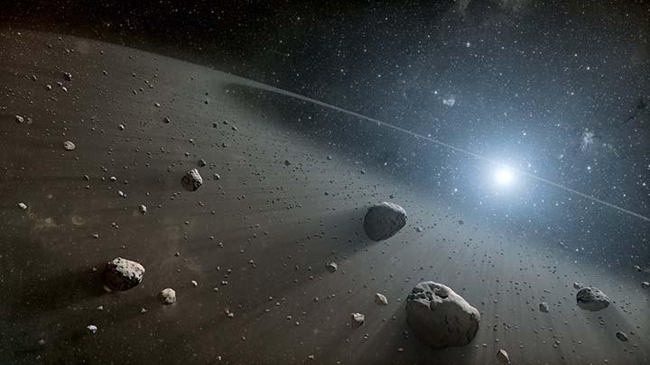 misteriosos objetos cinturon de asteroides - Astrónomos detectan dos misteriosos objetos en el cinturón de asteroides que no deberían estar