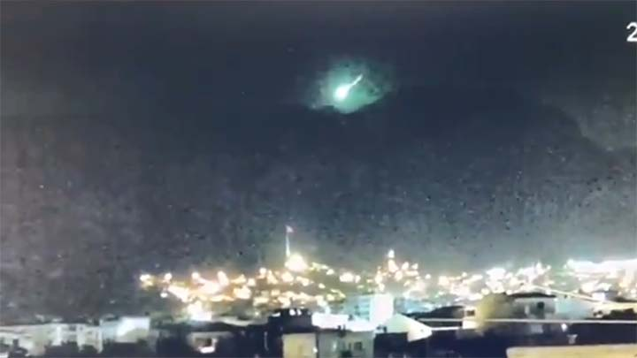 ovni explosion turquia - Un OVNI cae a la Tierra y provoca una fuerte explosión en Turquía