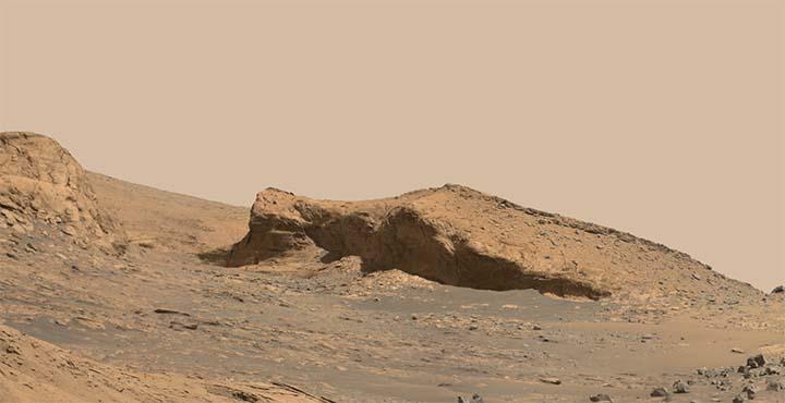 cara extraterrestre marte - Imágenes de la NASA muestran una cara extraterrestre en una montaña de Marte