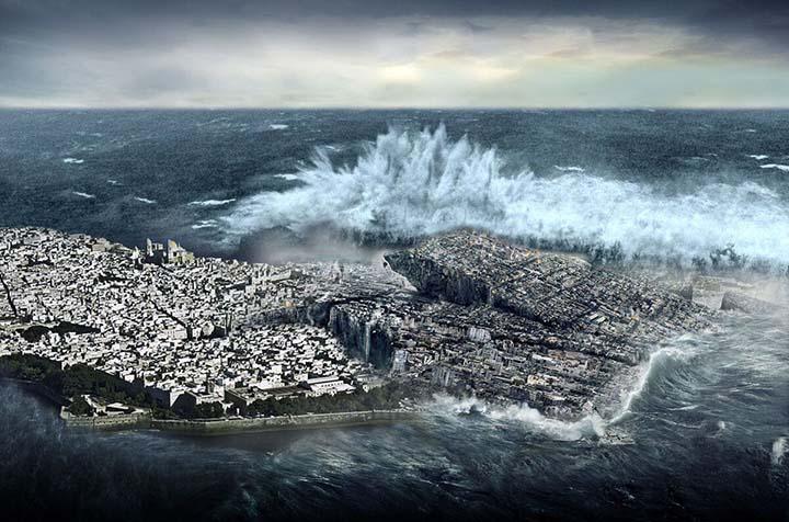 espana erupcion volcanica tsunami - Experto advierte que un código bíblico oculto predice que España será arrasada por una erupción volcánica y un tsunami