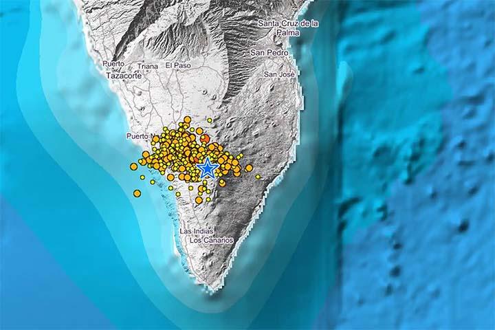 Alerta en la isla de La Palma por un 'enjambre sísmico' de miles de terremotos, ¿inminente gran catástrofe? La-palma-terremotos
