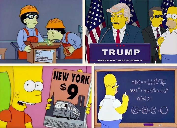 episodios de los simpson profecias - Una empresa ofrece casi 6.000 euros a quien vea todos los episodios de Los Simpson y encuentre sus profecías